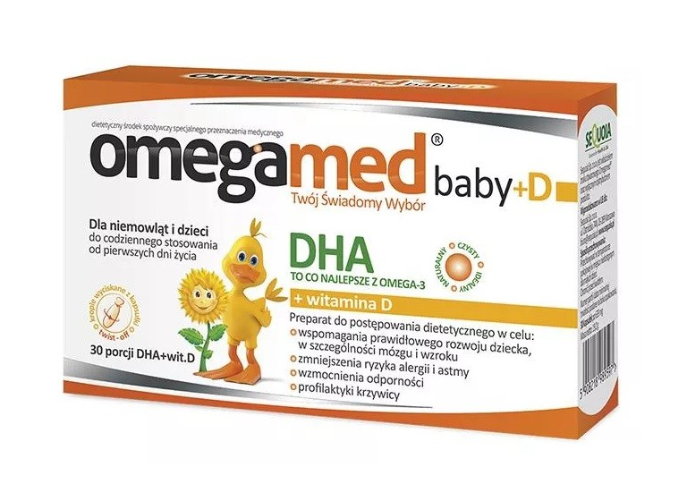 Omegamed Baby DHA + D