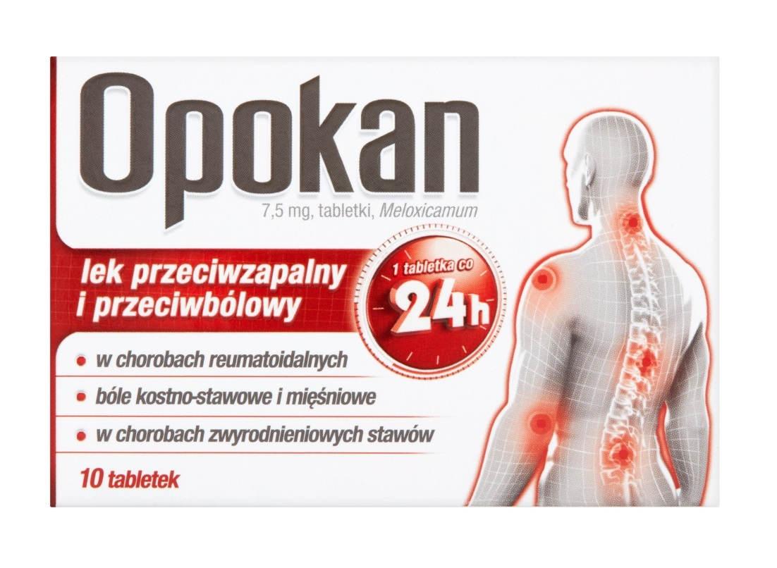 Opokan 7,5 mg Tabletki