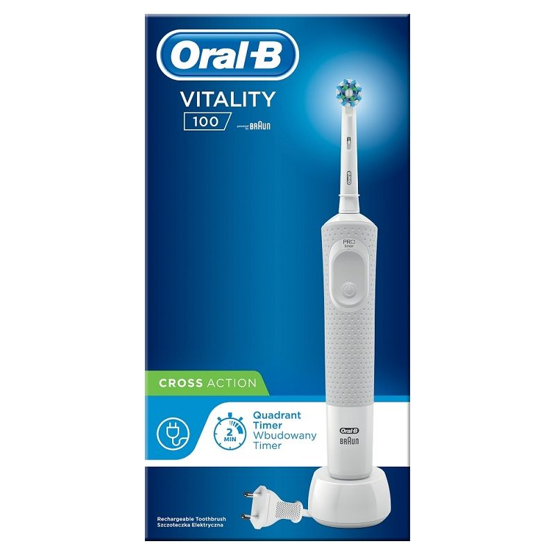 Oral-B Vitality 100 Cross Action White