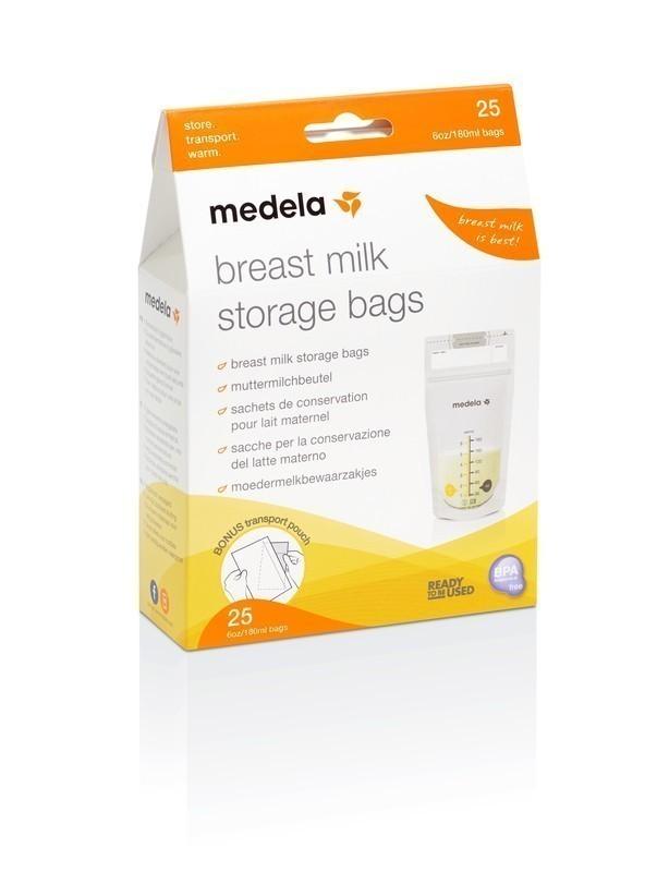 Medela - torebki do przechowywania pokarmu