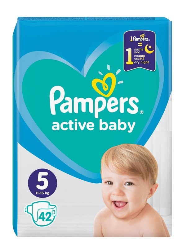 Pampers Active Baby 5
