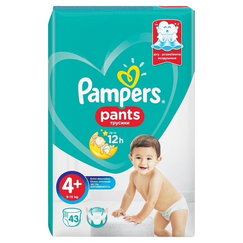 Pampers Pants 4+