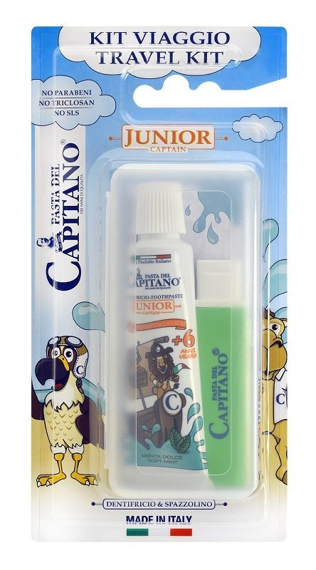 Pasta Del Capitano Travel Kit Junior 6+