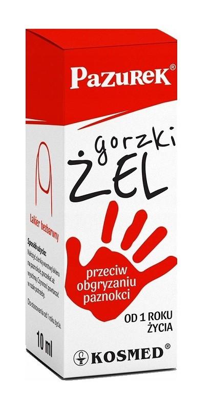 Pazurek Gorzki Żel 10 ml