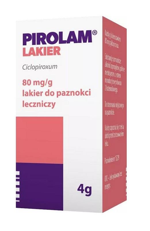 Pirolam 8% Lakier 4 g