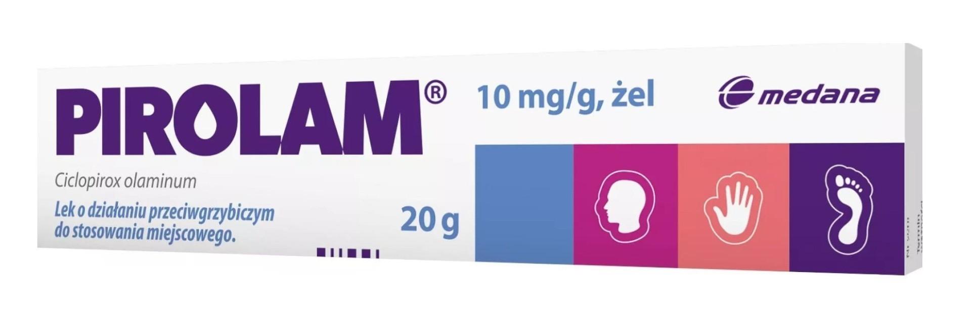 Pirolam 1% Żel 20 g