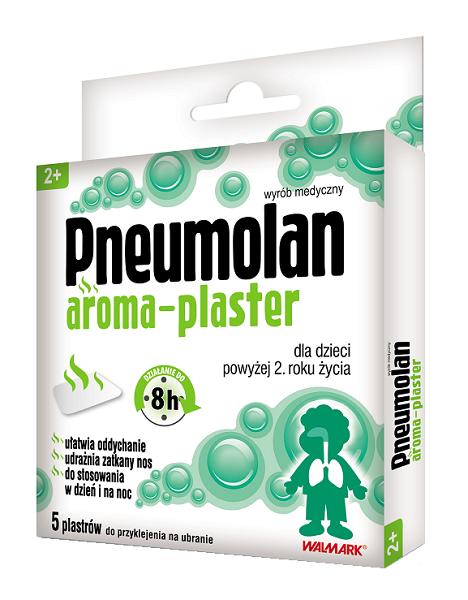 Pneumolan Aroma Plastry 5 szt.