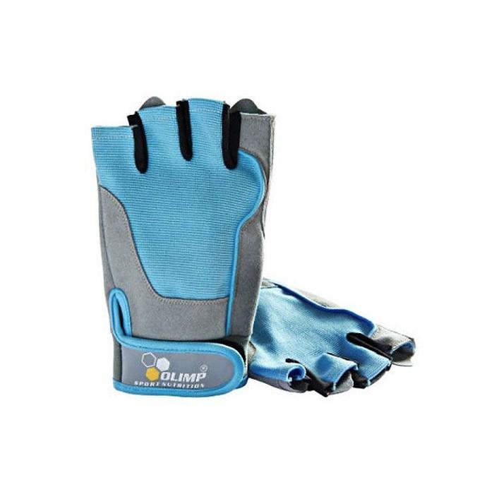 Olimp rękawice treningowe fitness niebieskie rozm. M