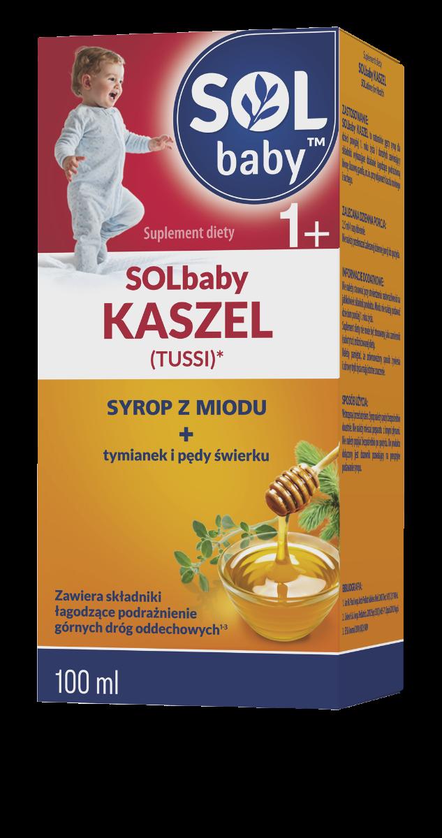SOLbaby Kaszel (Tussi) - syrop