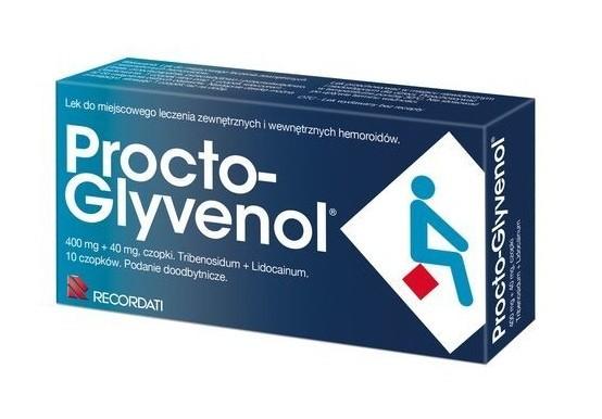 Procto-Glyvenol 10 Czopków