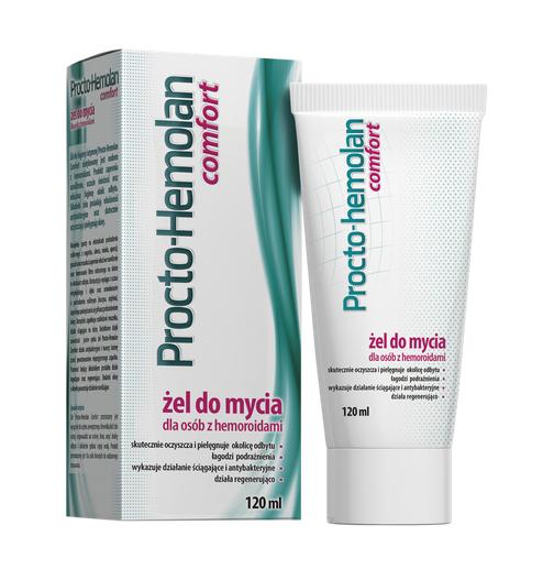 Procto-Hemolan Comfort Żel Do Mycia 120 ml