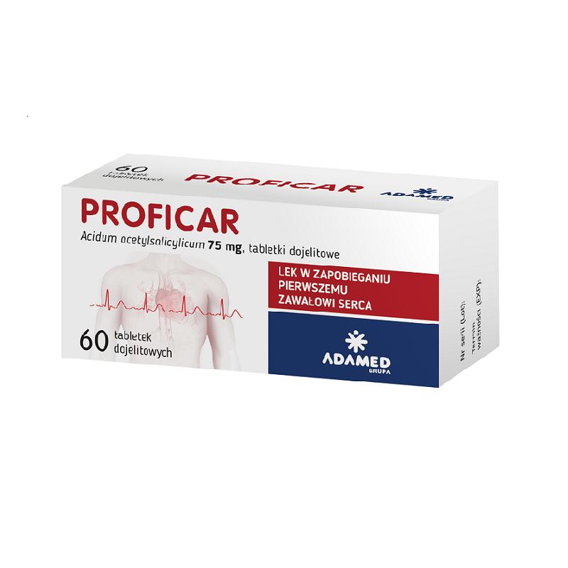 Proficar 75 mg 60 Tabletek