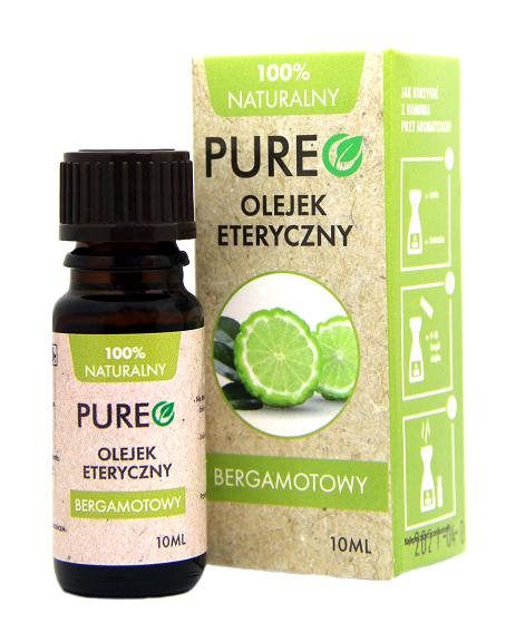 Pureo Naturalny Olejek Eteryczny Bergamota 10 ml
