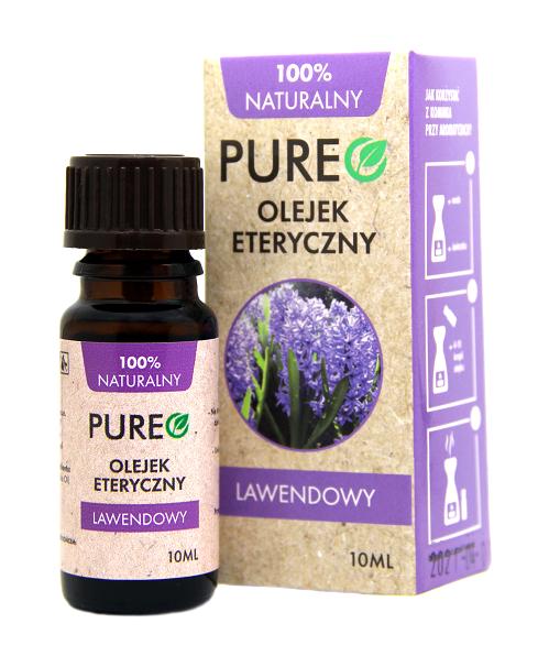 Pureo Naturalny Olejek Eteryczny Lawendowy 10 ml