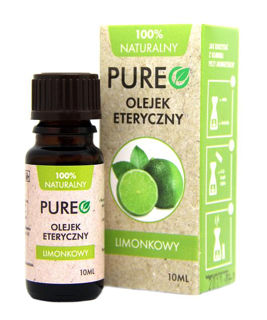 Pureo Naturalny Olejek Eteryczny Limonkowy 10 ml