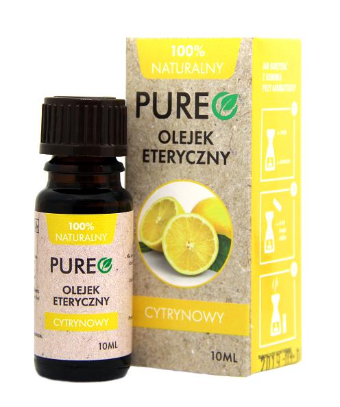 Pureo Naturalny Olejek Eteryczny Cytrynowy 10 ml