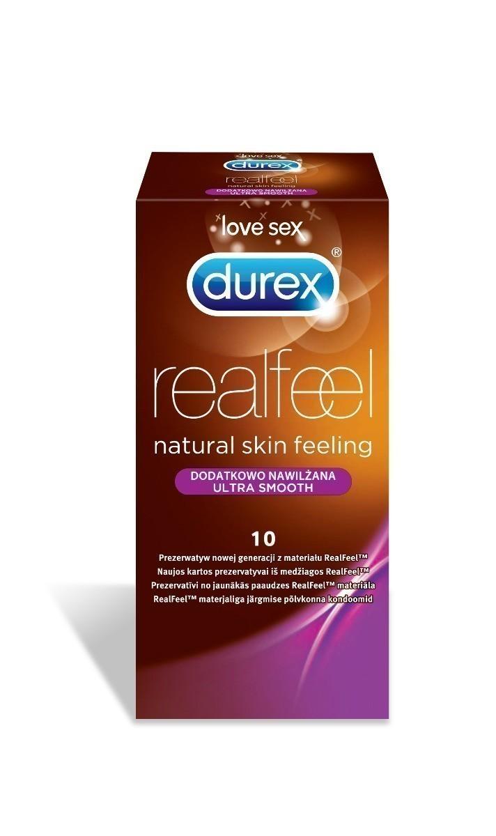 Durex RealFeel Ultra Smooth prezerwatywy