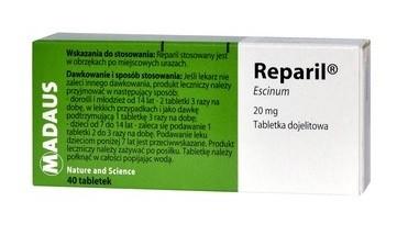 Reparil 40 Tabletek