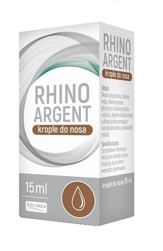 Rhinoargent Krople do nosa 15 ml