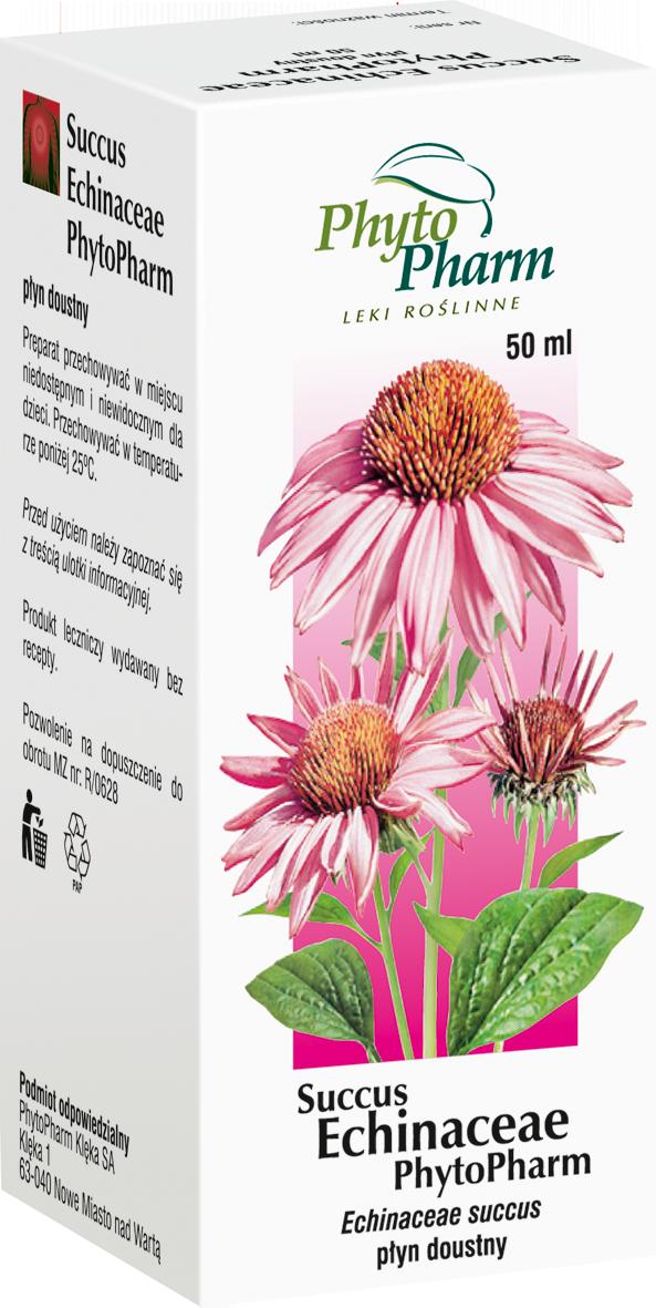 Succus Echinaceae - sok z ziela jeżówki purpurowej