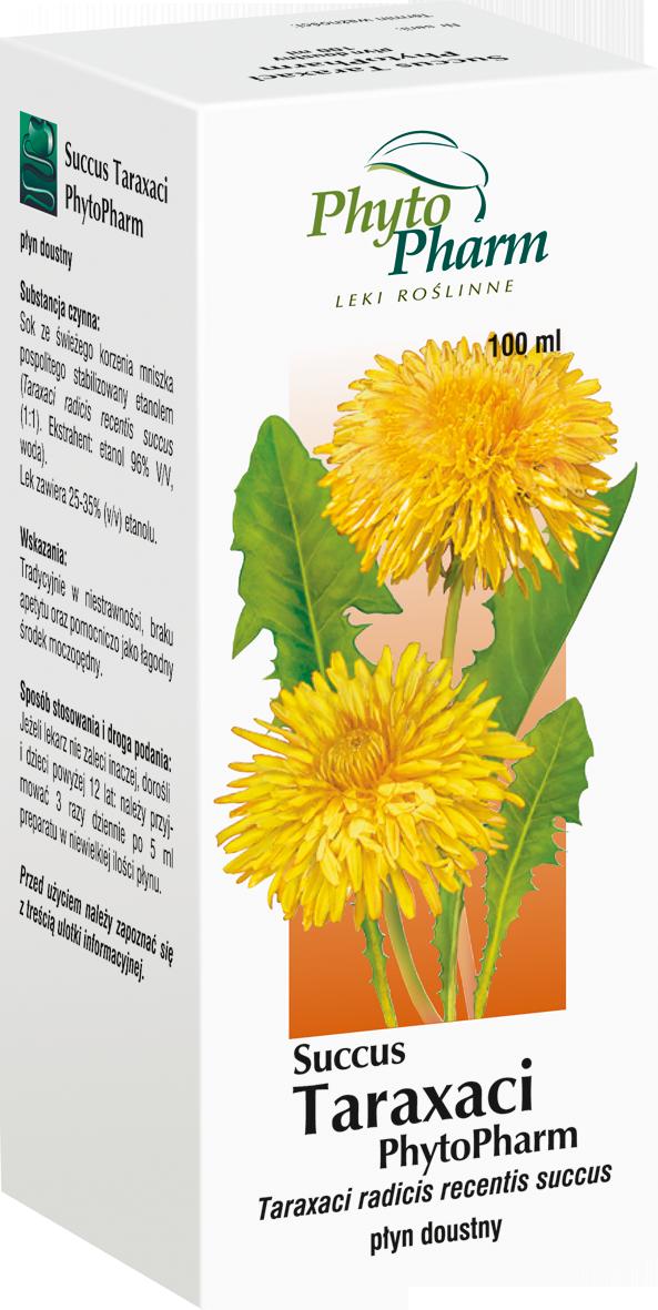 Succus Taraxaci - sok z korzenia mniszka lekarskiego