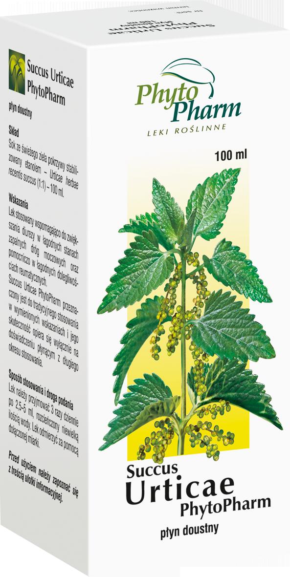 Succus Urticae - sok z ziela pokrzywy