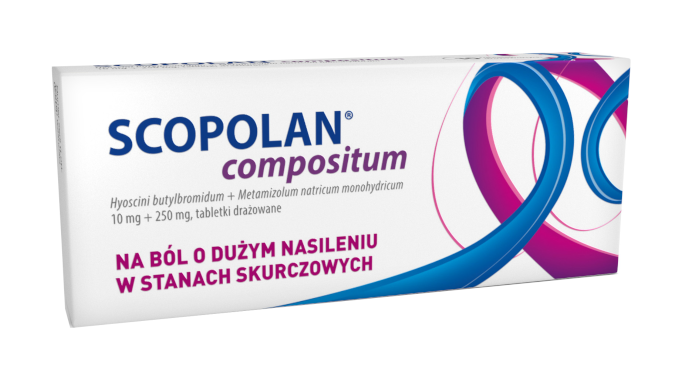 Scopolan Compositum 10 Tabletek