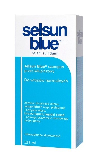 Selsun Blue Szampon przeciwłupieżowy do włosów normalnych 125 ml