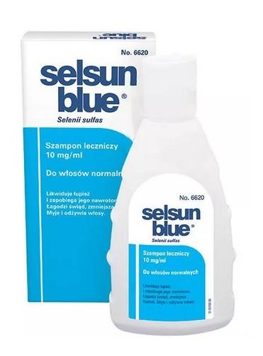 Selsun Blue Szampon przeciwłupieżowy do włosów normalnych 200 ml