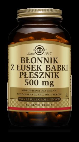 Solgar Błonnik z Łusek Babki Płesznik 500 mg