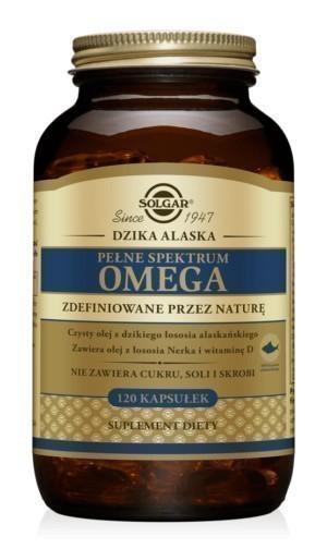 Solgar Pełne Spektrum Omega Łosoś Alaskański