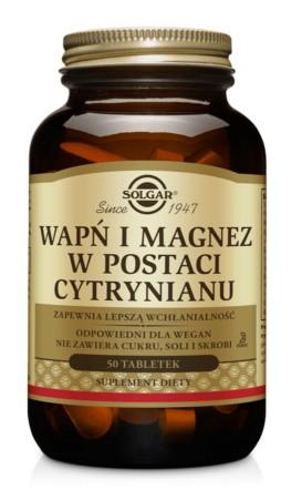 Solgar Wapń i Magnez