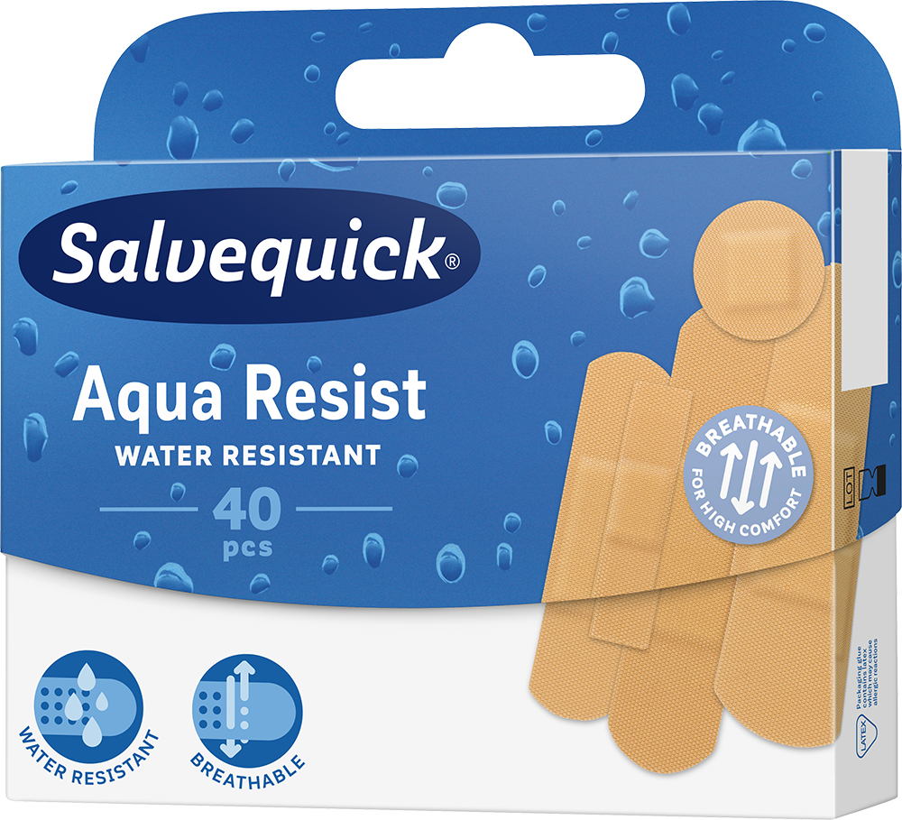 Salvequick Aqua Resist - plastry wodoodporne