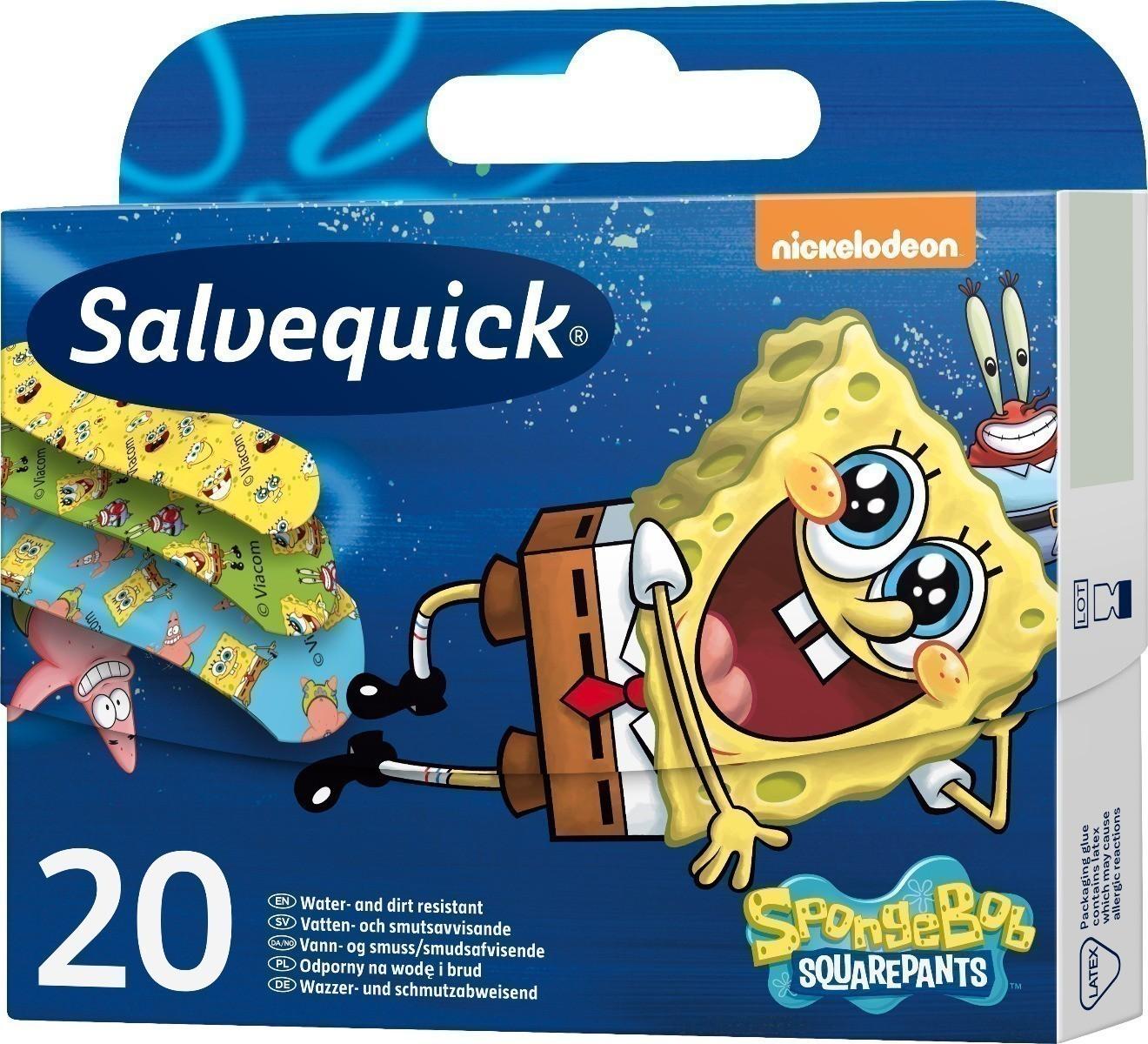 Salvequick Sponge Bob - plastry