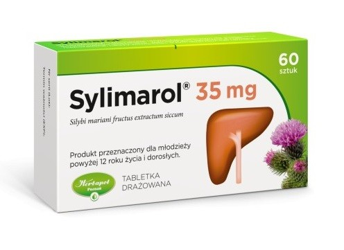 Sylimarol 35 mg 60 Tabletek