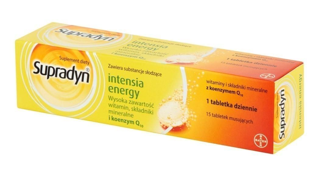 Supradyn Intensia Energy 15 Tabletek Musujących