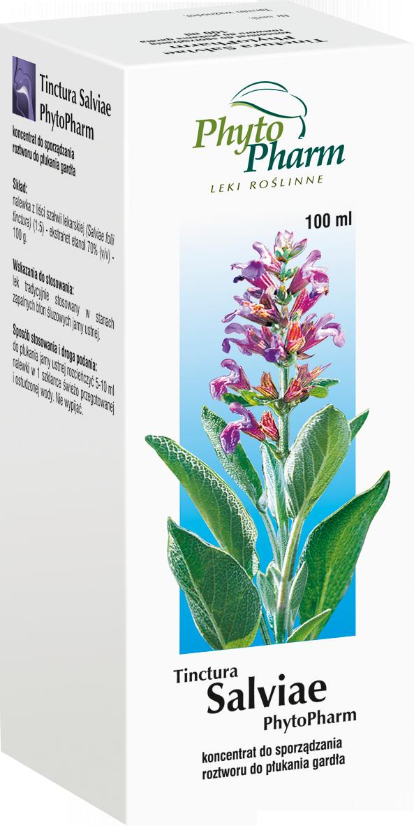 Tinctura Salviae Nalewka z szałwii lekarskiej 100 ml