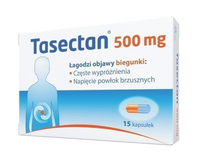 Tasectan 500 mg 15 Kapsułek