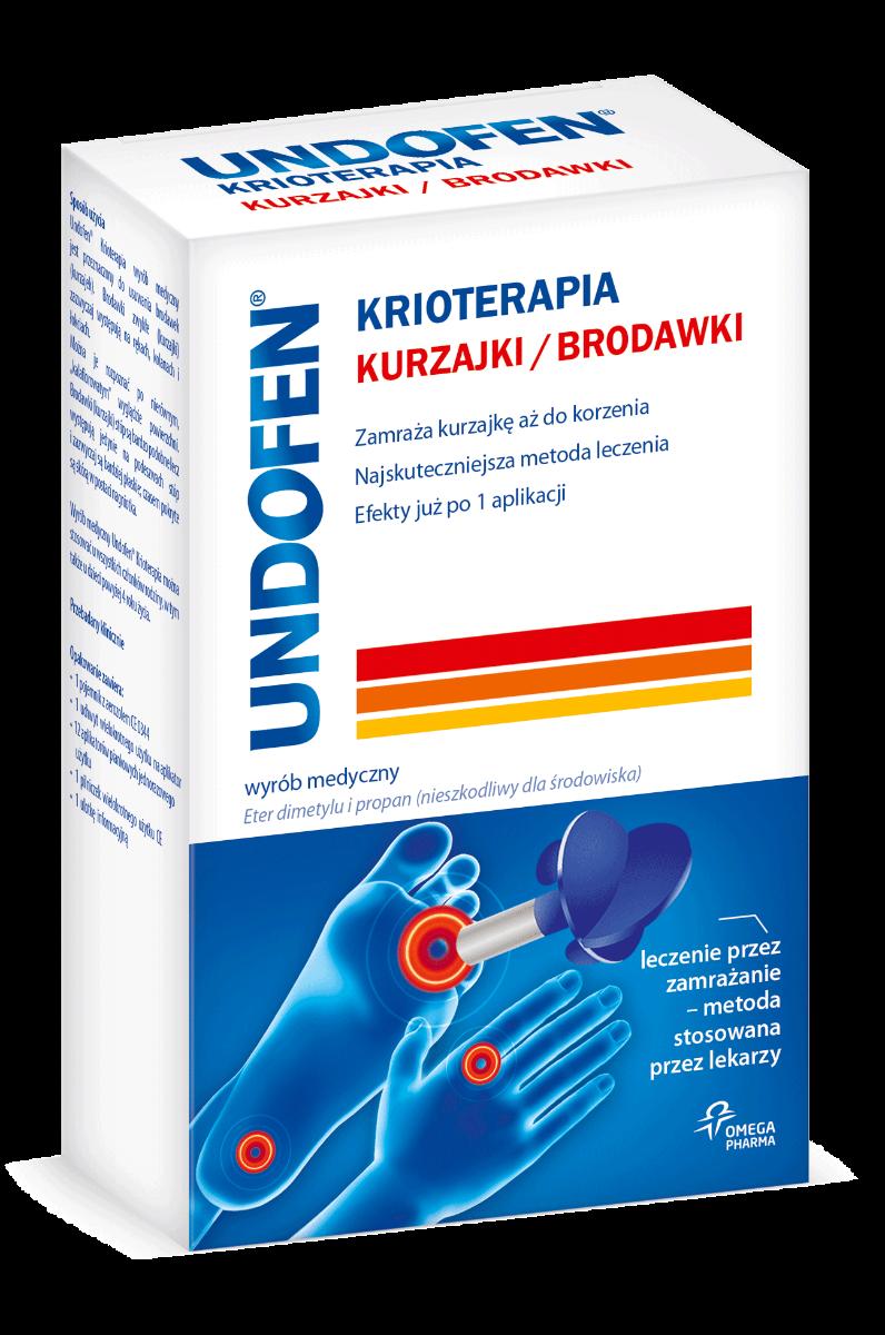 Undofen Krioterapia - usuwanie brodawek i kurzajek 50 ml