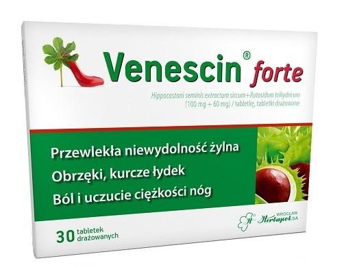 Venescin forte 30 Tabletek