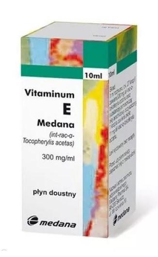 Vitaminum E Medana 10 ml