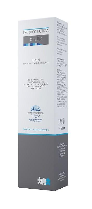 Zinalfat Krem kojąco-regenerujący 50 ml