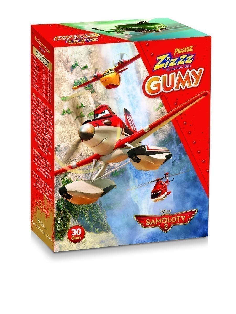 Plusssz Zizzz Gumy - Samoloty